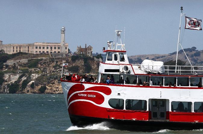 Jail and Sail: Excursão em Alcatraz e cruzeiro ao anoitecer/pôr do sol pela baía
