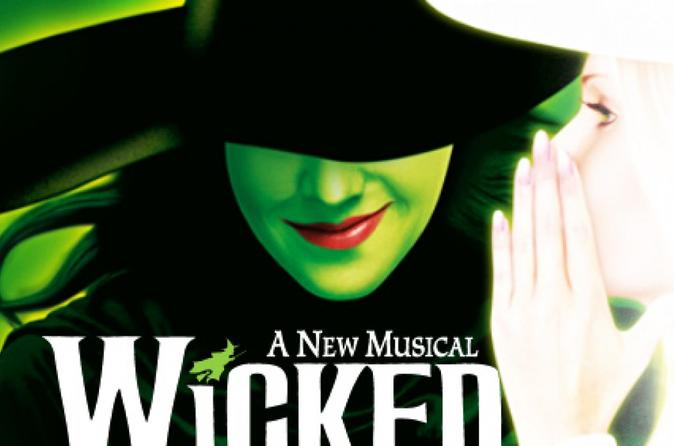 Wicked Theatre Show in London Including a 2-Course Meal