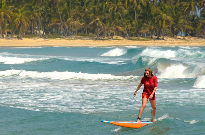 Surfing Lessons from Punta Cana at Uvero Alto