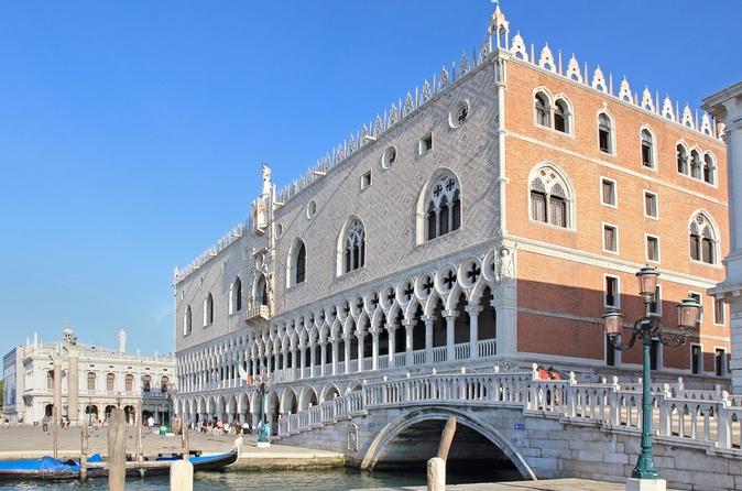 Veneza supereconômica: excursões evite as filas pelo Palácio Ducal e pela Basílica de San Marco e excursão a pé por Veneza