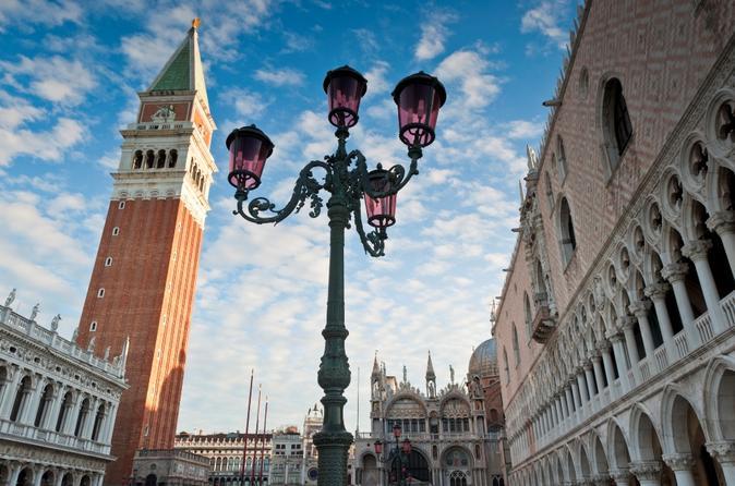Veneza supereconômico: Excursões evite as filas no Palácio Ducal e a Basílica de San Marco, Excursão a pé por Veneza e Cruzeiro pelo Grande Canal