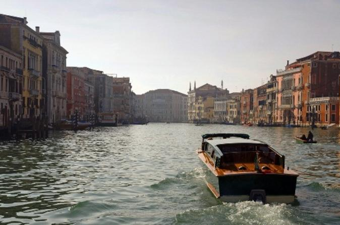Venice Grand Canal Small Group Boat Tour