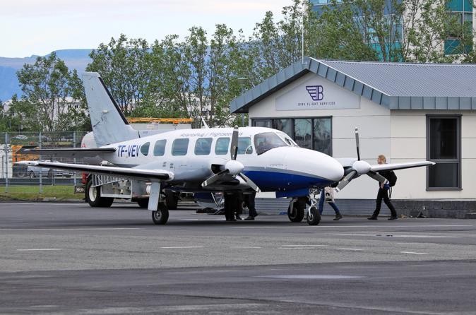 60-Minute Local Highlights Sightseeing Flight from Reykjavik