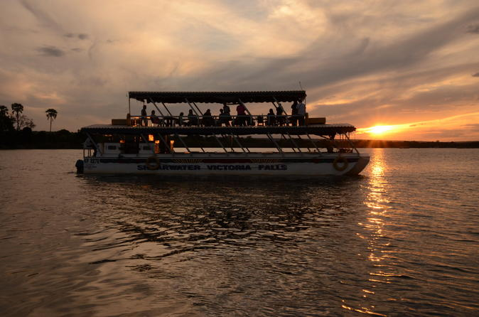 Sunset cruises on the zambezi river from victoria falls in victoria falls 283795