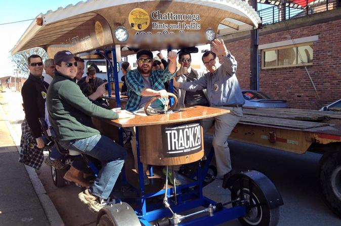 Chattanooga Pints and Pedals Pub Crawl
