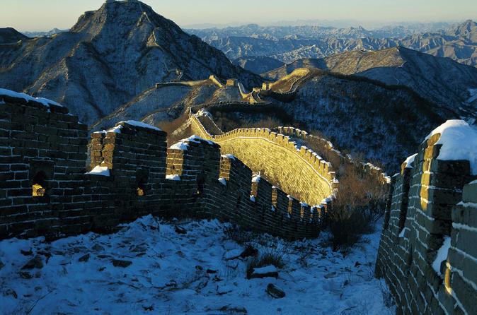 All-Inclusive Private Hiking Day Trip to Unrestored Great Wall Jiankou and Mutianyu