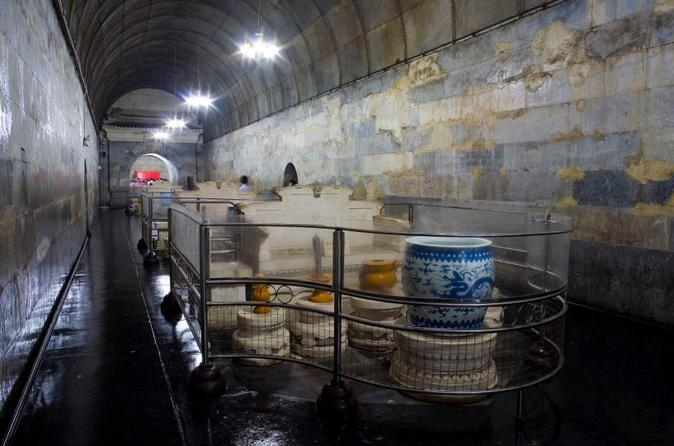 Half Day Tour to Ming Tombs Underground Palace and Sacred Path from Beijing