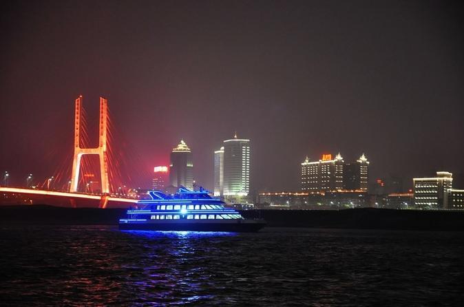 Nanchang Night River Cruise Tour With Shengjin Tower Food Street Tasting Experience