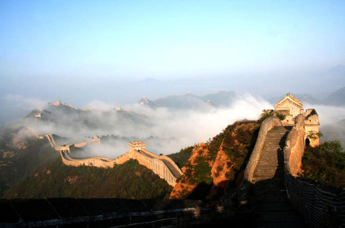 Private Great Wall of China Hiking Tour From Simatai West to Jinshanling, from Beijing China, Asien