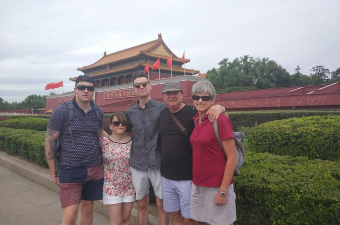 Private Layover Tour: Mutianyu Great Wall, Tiananmen Square, and Forbidden City