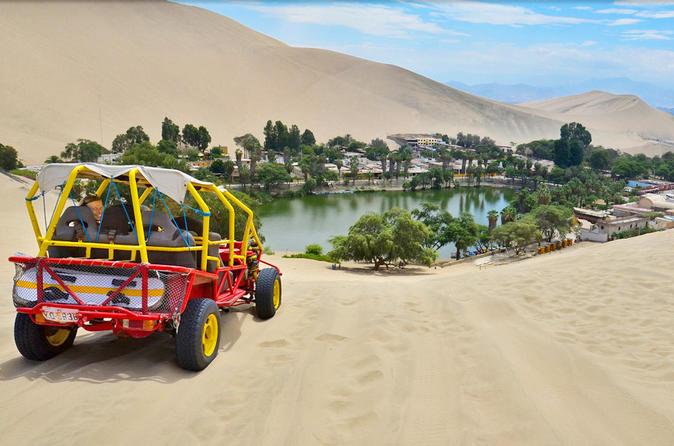 Paracas und Huacachina ab Lima mit Ballestas Inseln und Sandboarding