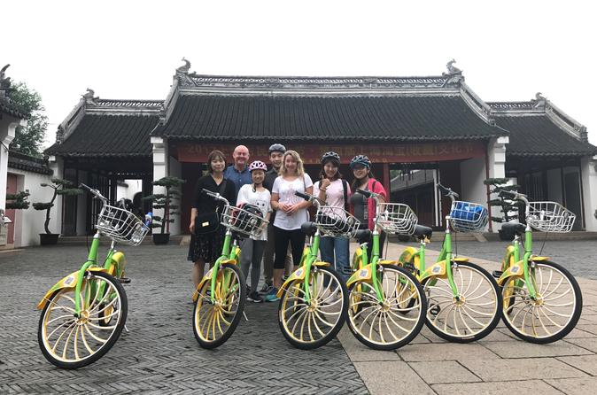 Backstreets of Old Shanghai Bike Small Group Tour