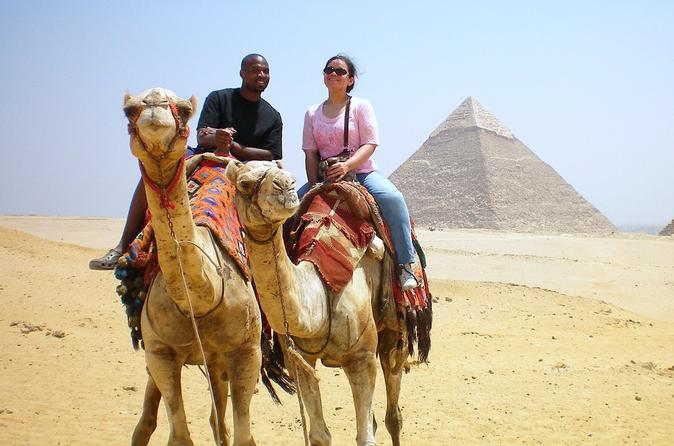 Pyramids of Giza, Sphinx, the Ancient Capital of Memphis, and Dahshour Pyramids  Day Tour