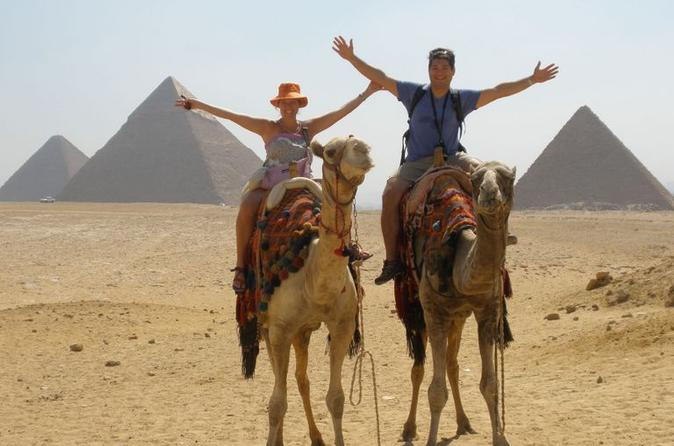 Sunset Camel or Horse Ride by the Giza Pyramids