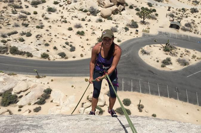 Rappelling adventures in joshua tree national park in joshua tree 343306