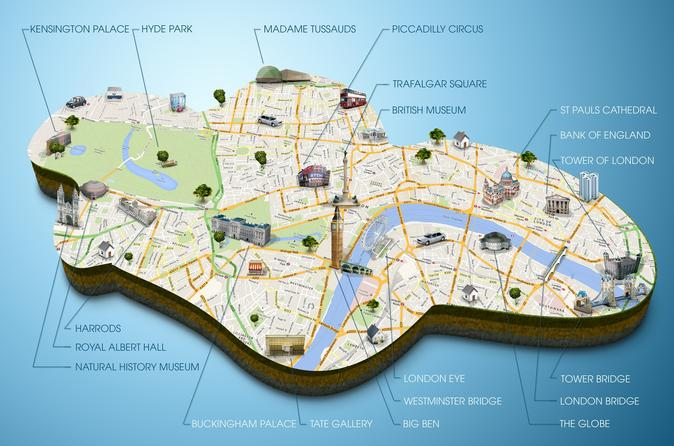 London Panoramic Self-Guided Tour