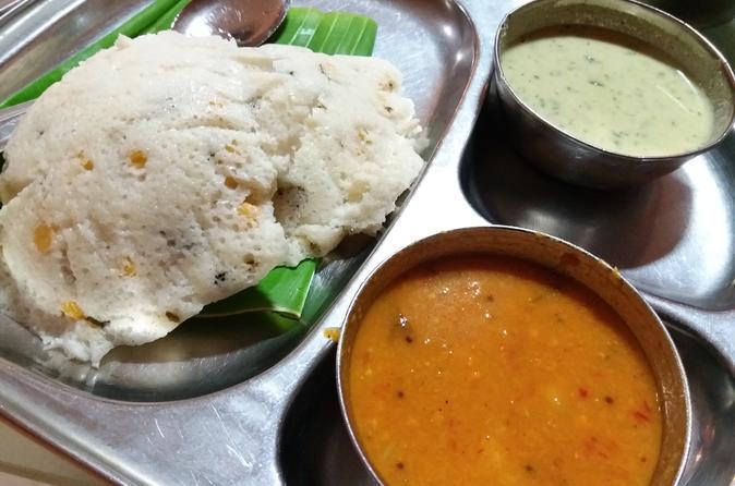 Vegetarian food walk in Basavanagudi