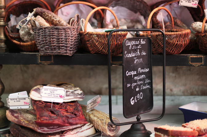 Marais District Food Walking Tour with Wine and Cheese Tastings