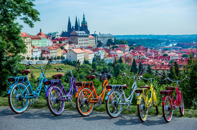 Experience Prague on Electric Bike