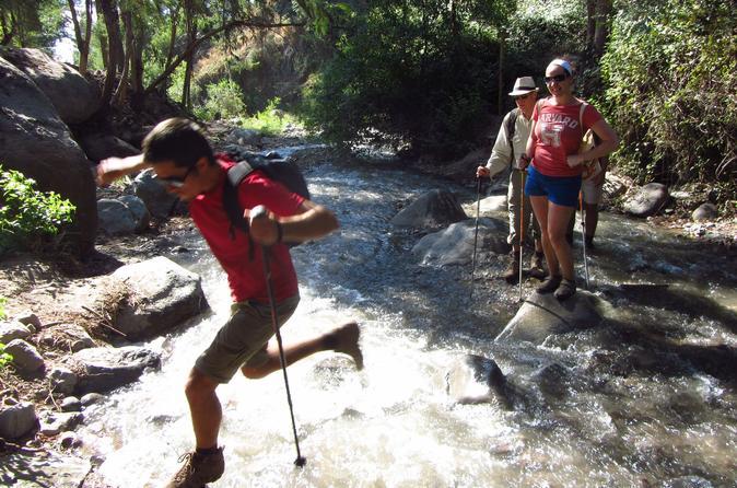 Excursão provada de um dia: cachoeiras do Caminho de Santiago