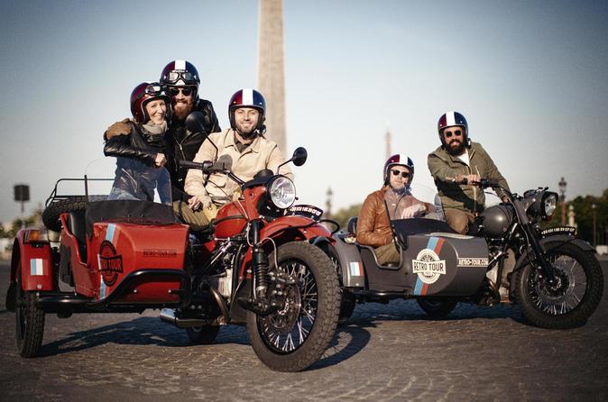 Retro Tour Paris: Sidecar Tour