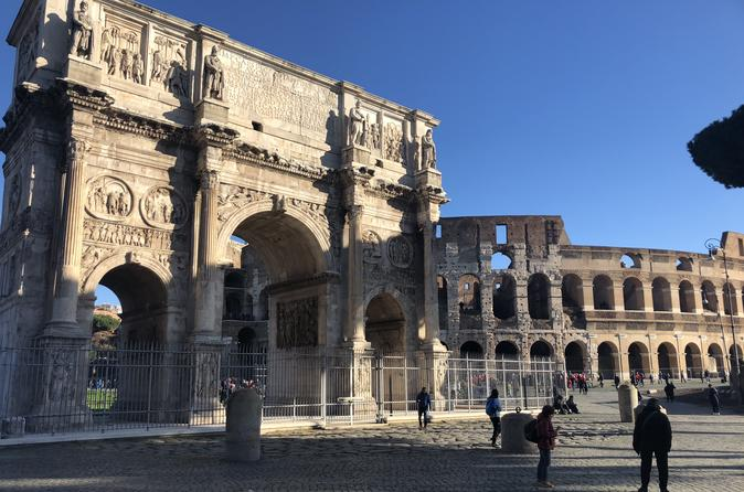 VIP Tour of Rome from Civitavecchia, Colosseum & Vatican Museums, Driver & Private Tour Guide with Skip the Line Tickets