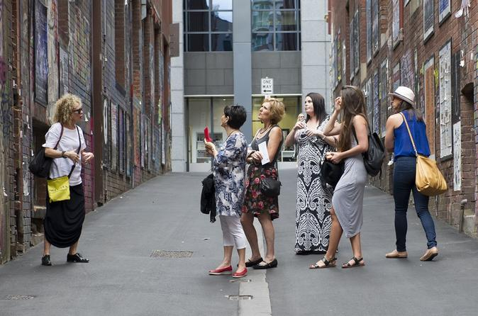 Street Art and Gallery Walking Tour of Melbourne