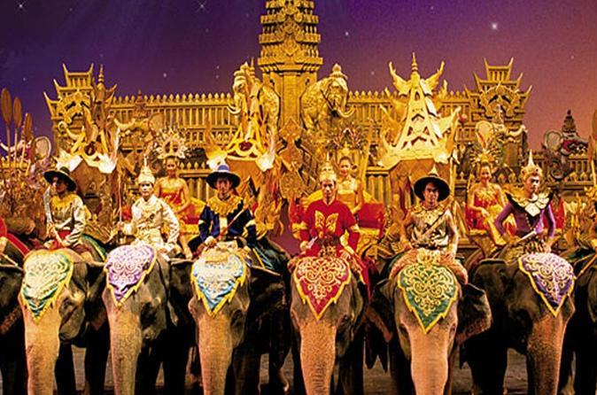 Phuket Fantasea Show with Buffet  Dinner