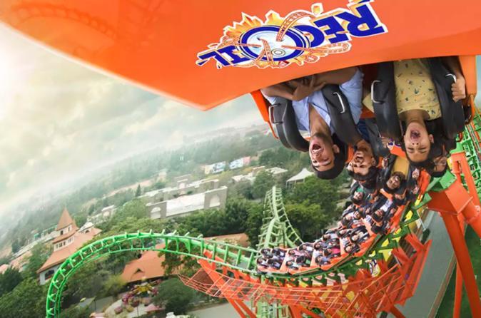 Wonderla Amusement Park in Hyderabad Admission Ticket with Optional Transfer