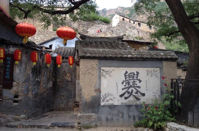 Private English Speaking Driver Transfer To Cuandixia Old Village