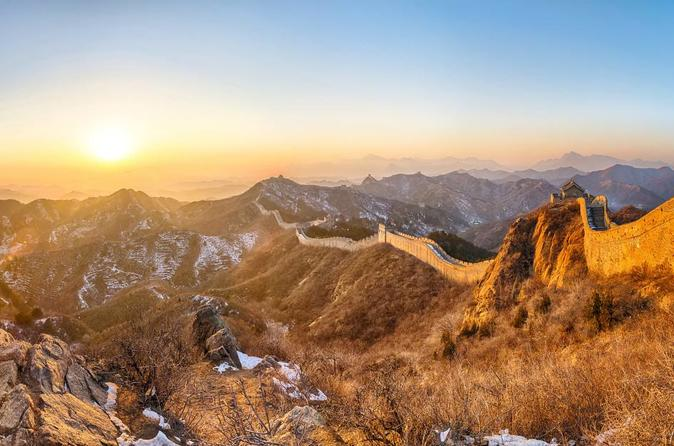 Private Sunset Tour To Jinshanling Great Wall