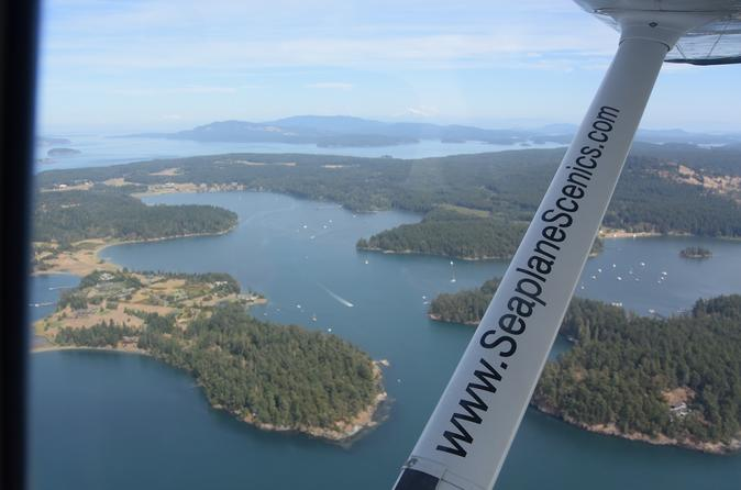 San Juan Islands Seaplane Tour Departing from Lake Washington