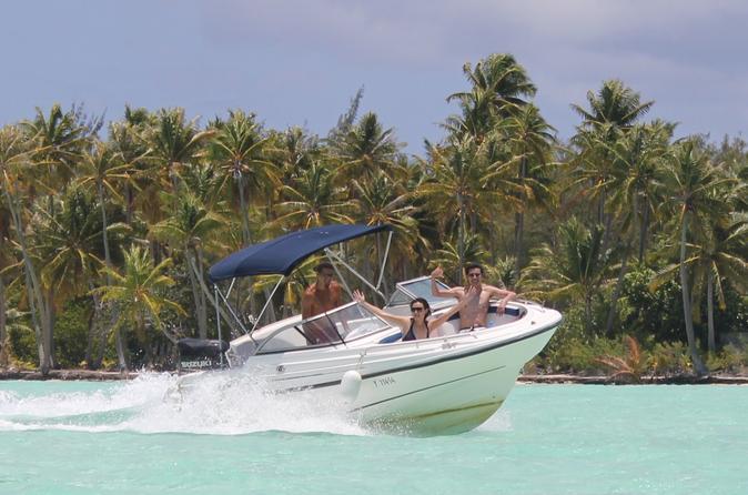 Private Bora Bora Lagoon Cruse with Optional BBQ Picnic Lunch on a Motu