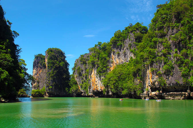 Full-Day Phang Nga Bay Guided Excursion by Speedboat