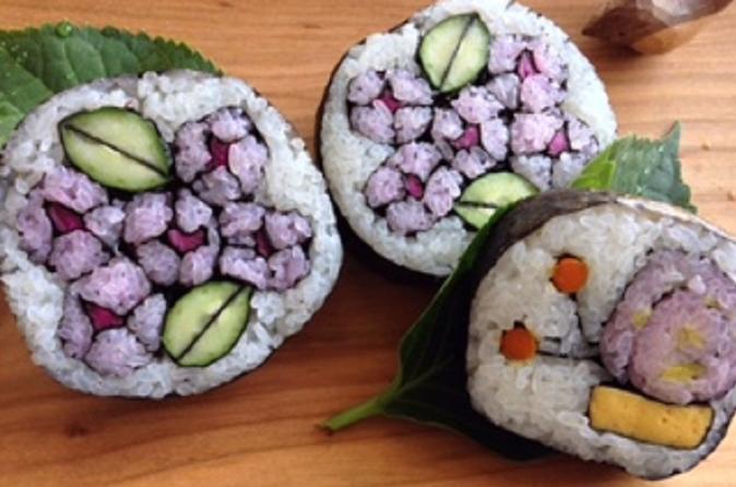Kazarimaki sushi lessons in nagoya 342360