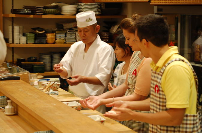 Sushi making and dinner experience in nagoya in nagoya 280064