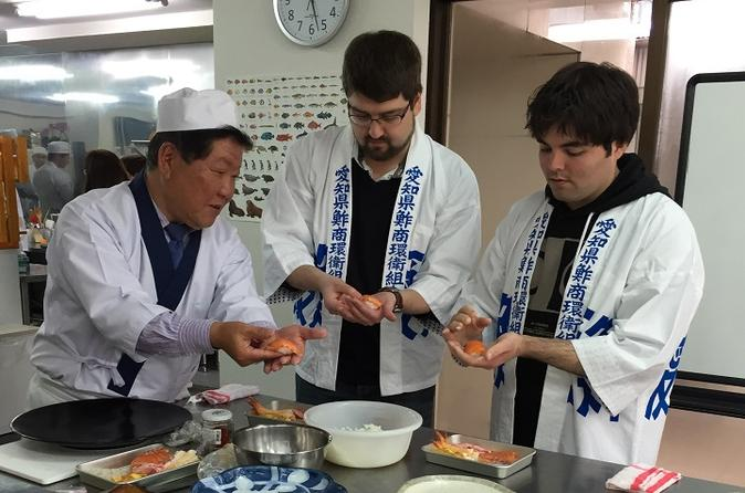 Sushi making experience and lunch in nagoya in nagoya 305786