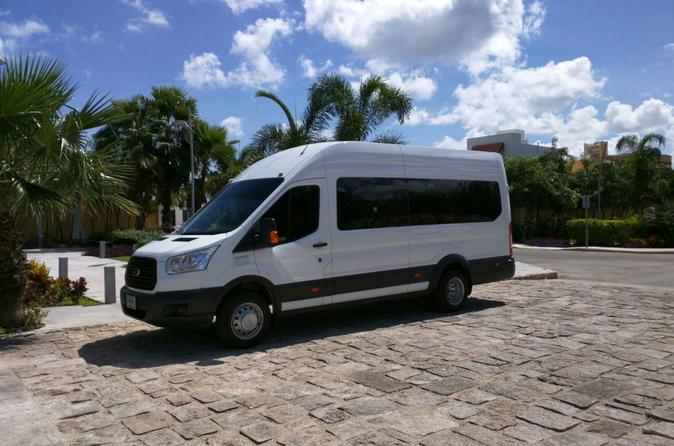 Private Transfer by Van From Cancun Airport