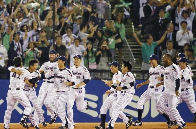 Baseball Experience with Yakult Swallows
