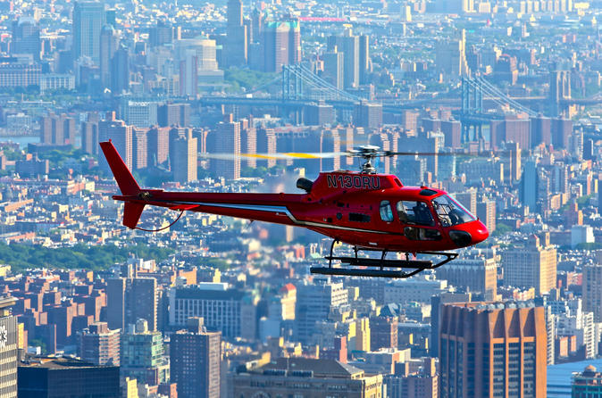 Excursão de helicóptero pela Big Apple de Nova York