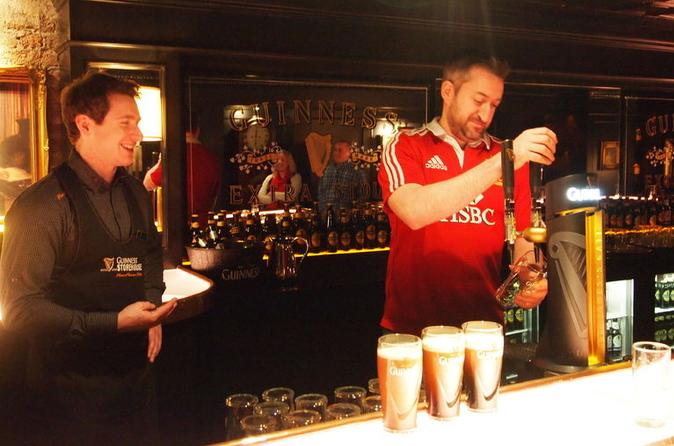 Evite as filas: experiência de degustação Guinness Connoisseur na Guinness Storehouse