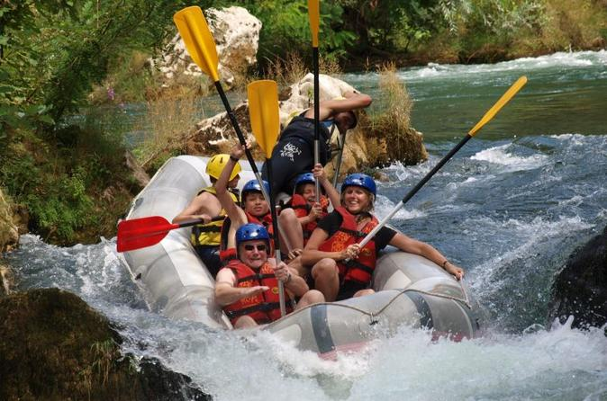 Small group rafting experience on cetina river from split in split 286680
