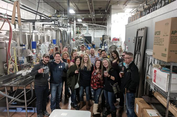 Craft Brewery Tour in Minneapolis and St Paul