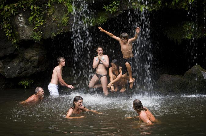 Hawaii Swim Kohala Falls United States, North America