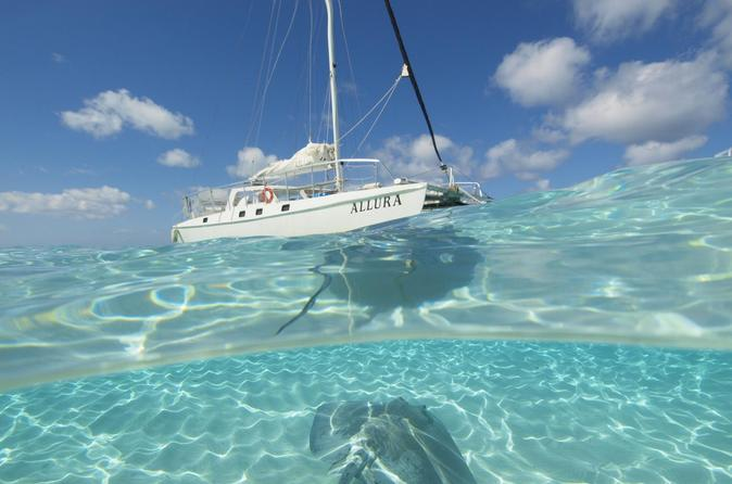 Cayman Islands Stingray City Luxury Sailing and Swimming Tour