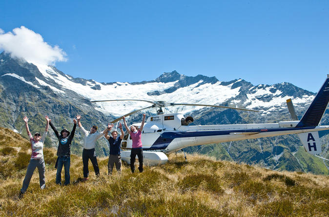 1 hour mount aspiring and glaciers helicopter tour from wanaka in wanaka 280616