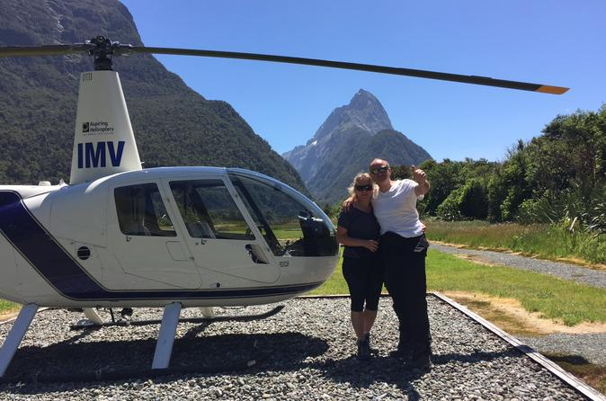 2 hour milford sound helicopter tour including glacier landing in wanaka 281416