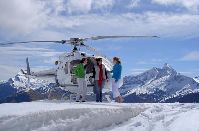 25 minute helicopter tour including snow landing from wanaka in wanaka 280593