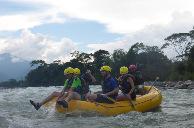 Private tour whitewater rafting in the amazon from tena in tena 279627