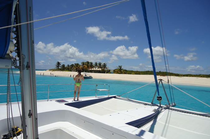 Prickly Pear Day Sail and Snorkel from St Maarten